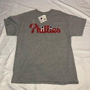 NWT Majestic Philadelphia Phillies Tee Size Large